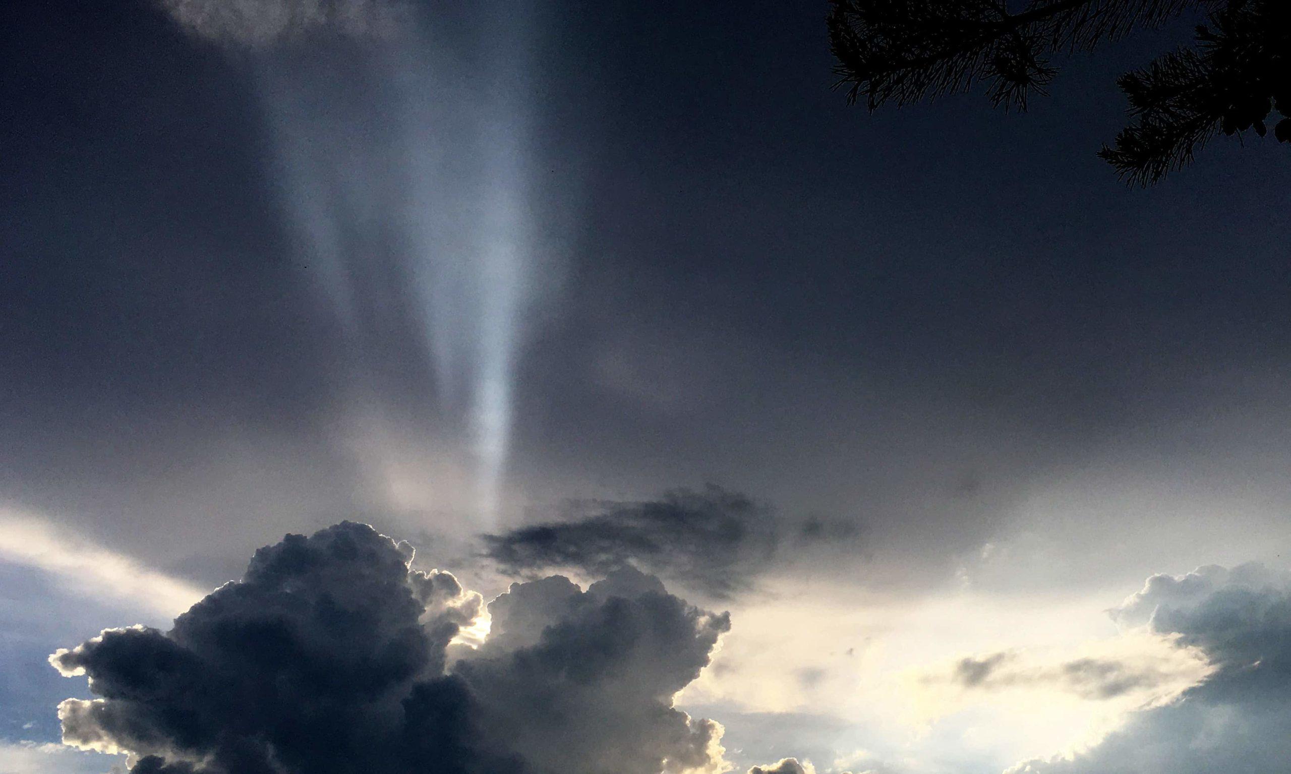 Cumulus vor Cumulonimbus Mias Klimatagebuch