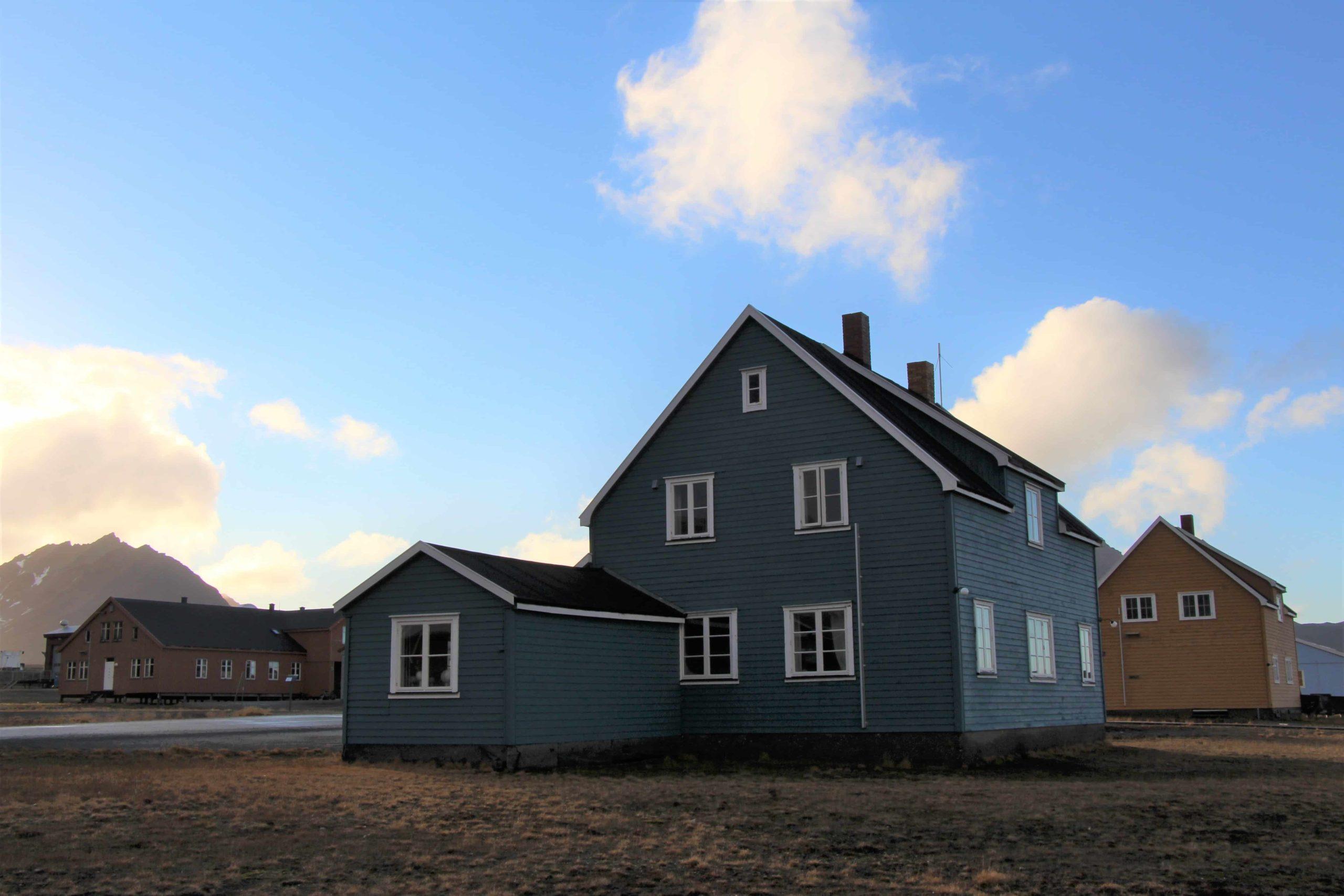 AWI Gebäude Ny Alesund, Michael Lonardi